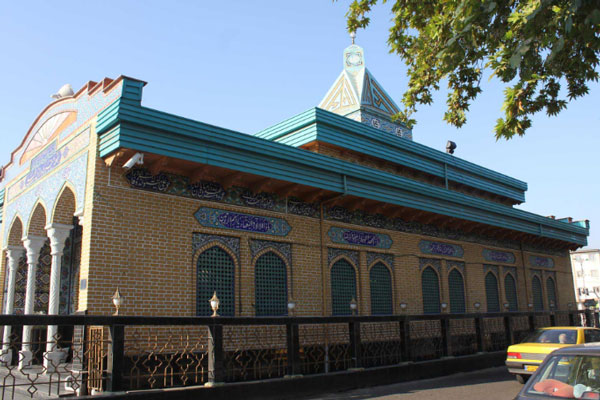 ساختار بقعه دانای علی در رشت
