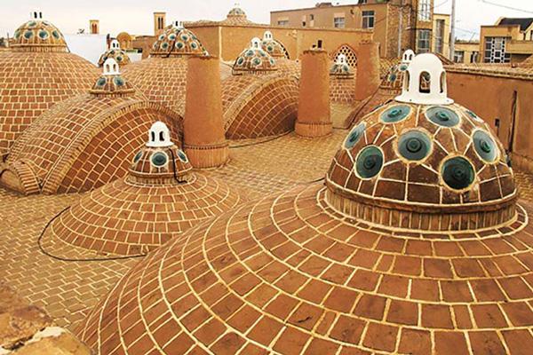 ساختار-حمام-سلطان-امیر-احمد کاشان