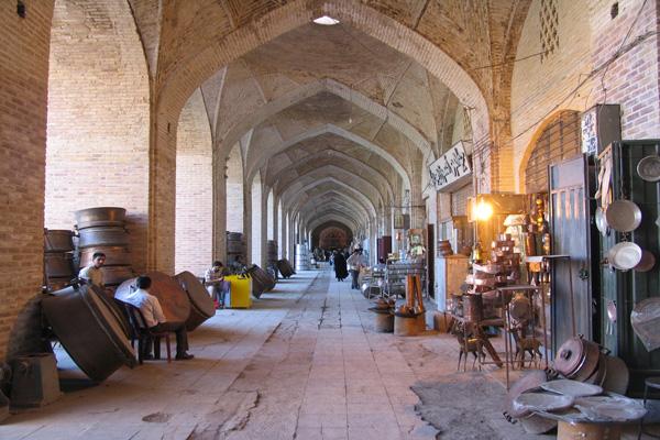 معماری-بازار-تاریخی کاشان