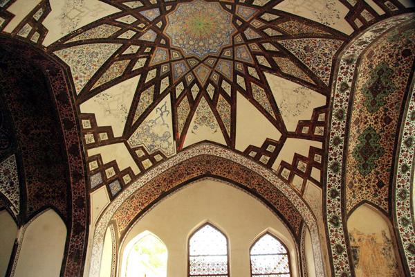 معماری-باغ-فین کاشان