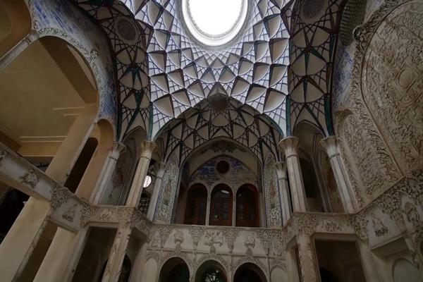 معماری-خانه-بروجردی کاشان