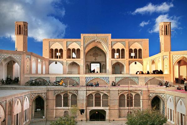 معماری-مسجد-آقا-بزرگ کاشان