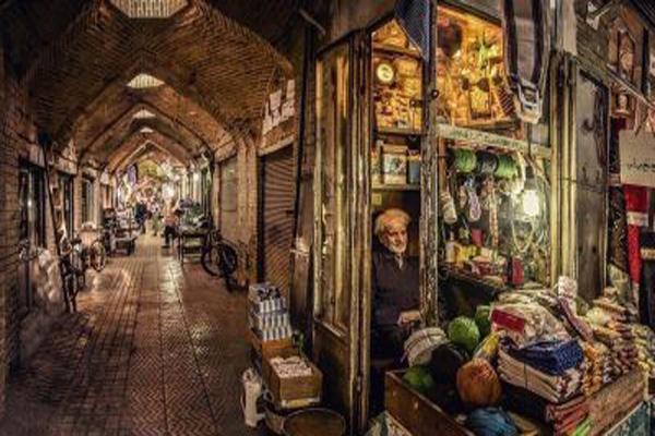 موقعیت-مکانی-بازار-بزرگ زنجان
