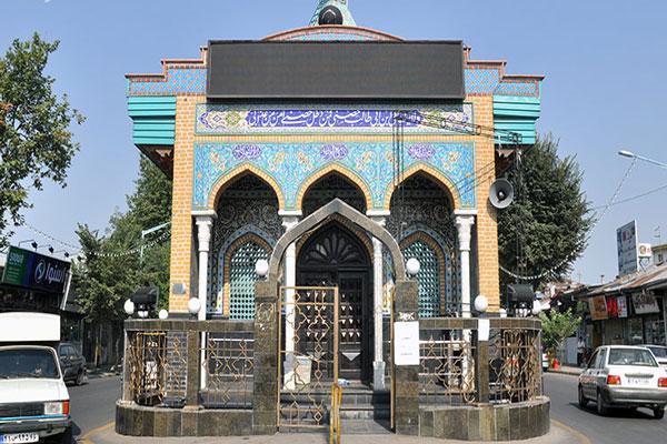موقعیت مکانی بقعه دانای علی در رشت