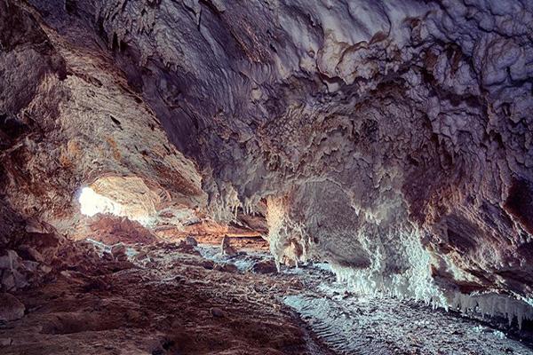 موقعیت-مکانی-غار-نمکدان قشم