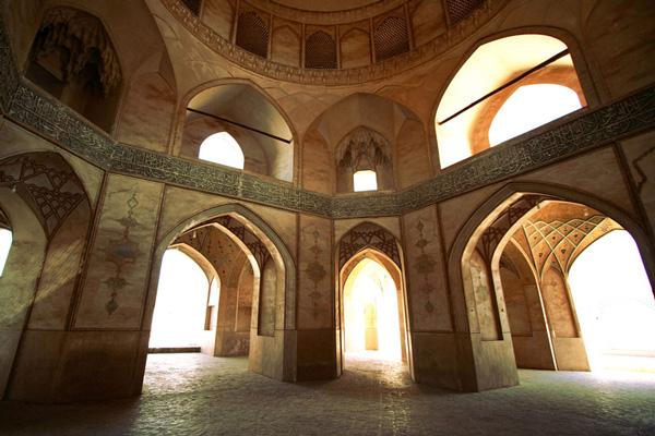 موقعیت-مکانی-مسجد-آقا-بزرگ کاشان