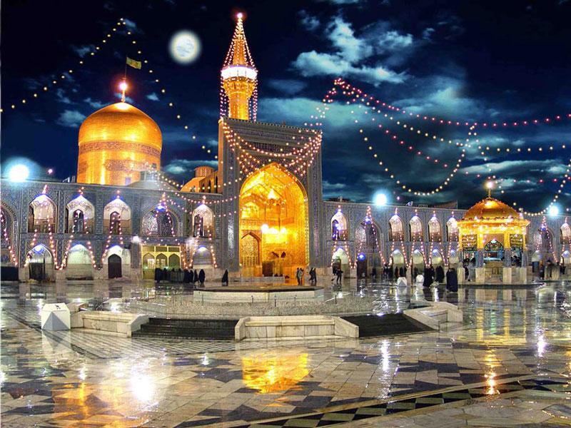 حرم مطهر امام رضا (ع) بزرگترین جاذبه مذهبی در ایران