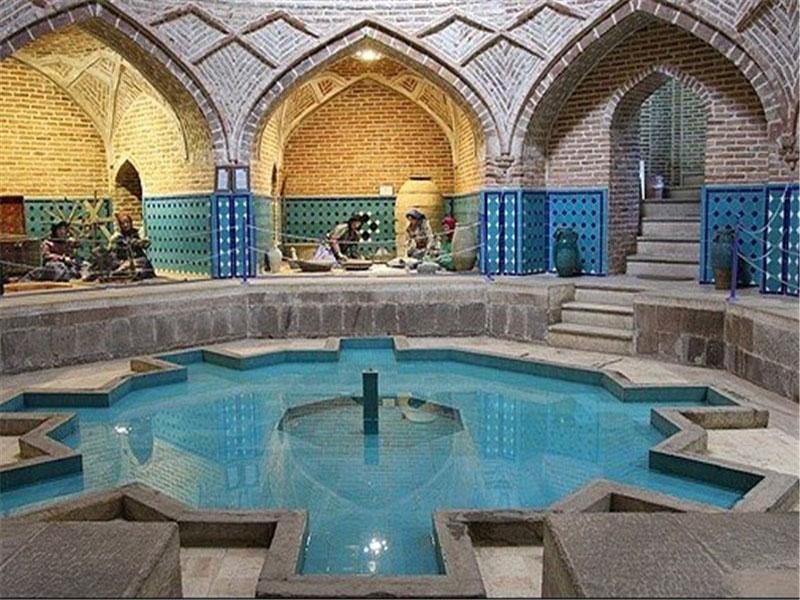 حمام-قجر(موزه-مردم-شناسی) قزوین