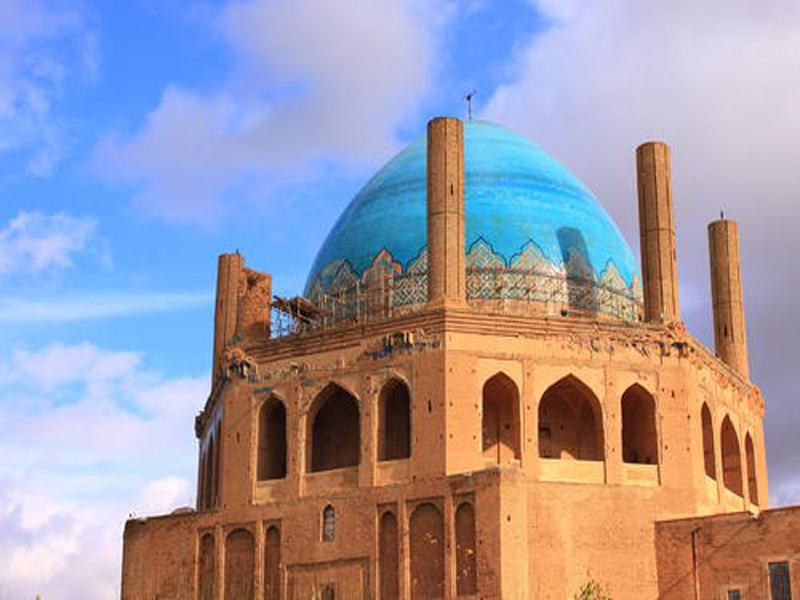 سلطانیه بزرگترین گنبد در ایران