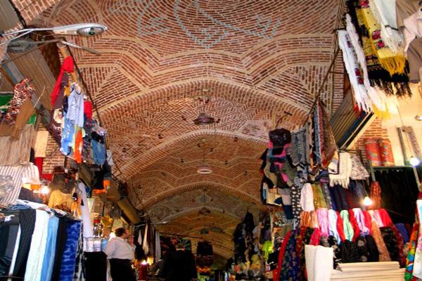 معماری-بازار-تاریخی اردبیل