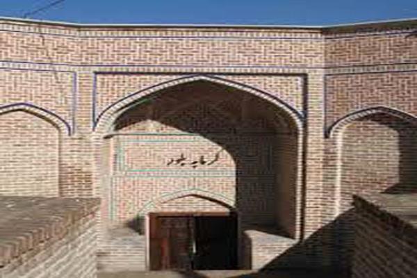 معماری-حمام-بلور قزوین