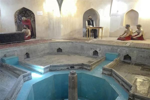 معماری-حمام-ظهیرالاسلام اردبیل