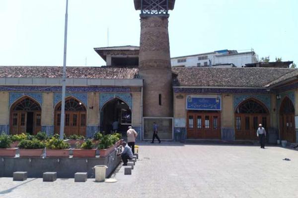 مناره-و-منبر-مسجد-جامع گرگان