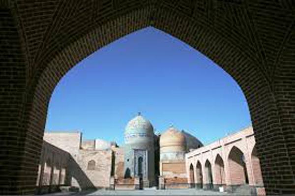 موقعیت-مکانی-خانقاه-و-مجموعه-بقعه-شیخ-صفی-الدین اردبیل
