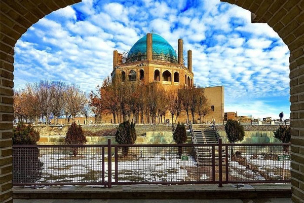 موقعیت-مکانی-سلطانیه زنجان