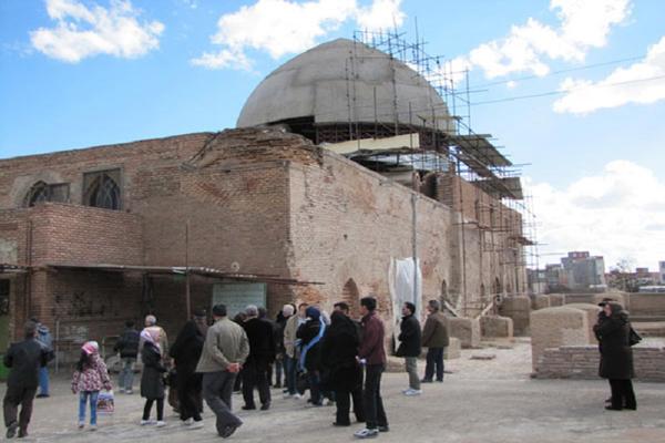موقعیت-مکانی-مسجد-جامع اردبیل