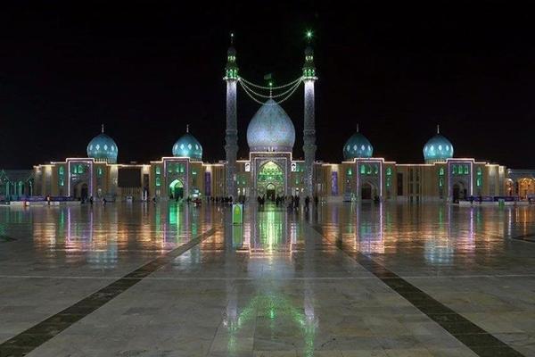 موقعیت-مکانی-مسجد-جمکران قم
