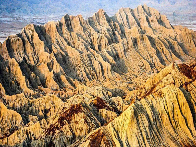 کوههای مریخی یا مینیاتوری