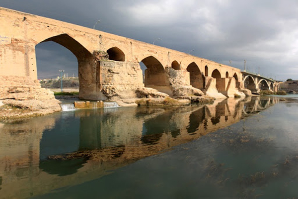 معماری-پل-تاریخی دزفول