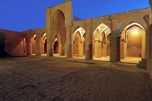 موقعیت-مکانی-مسجد-تاریخانه دامغان