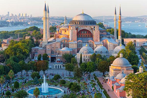 تاریخچه مسجد ایا صوفیه استانبول