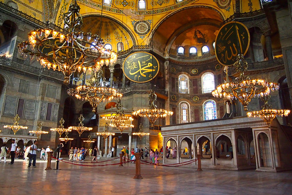 درباره-مسجد-ایا-صوفیه استانبول