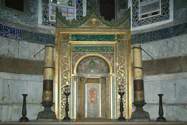 عنصر-مهم-مسجد-آبی استانبول