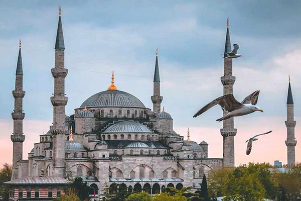 معماری-مسجد-آبی استانبول