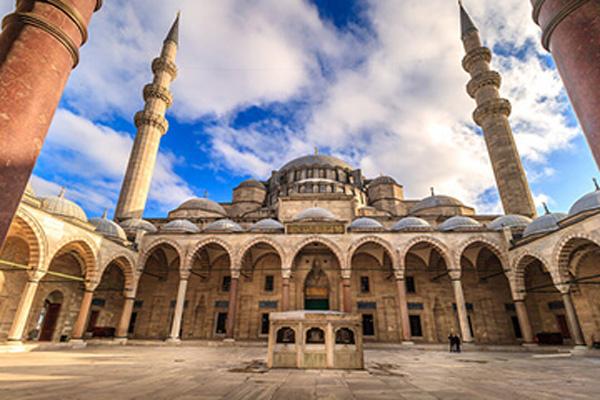 معماری-مسجد-سلیمانیه استانبول