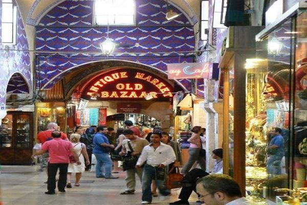 موقعیت-مکانی-بازار-بزرگ استانبول