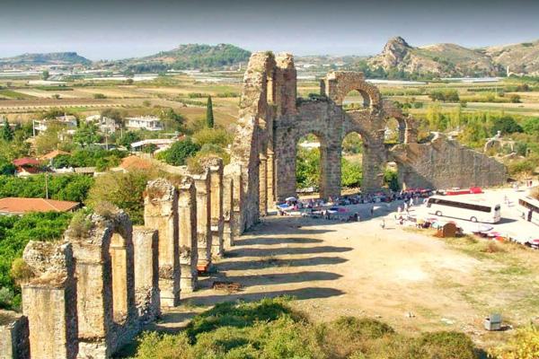 تاریخچه-آسپندوس آنتالیا