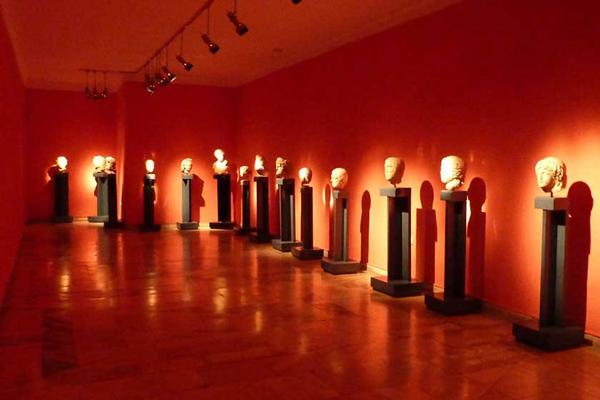 سالن-های-موزه-باستان-شناسی آنتالیا