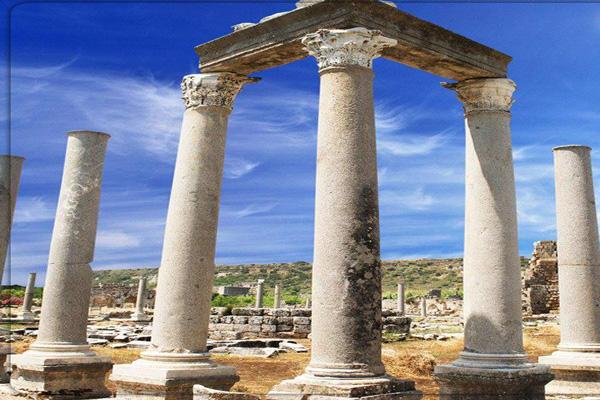 تاریخچه-شهر-باستانی-پرگا آنتالیا
